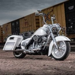 "Road King & Softail 14"" Kliphanger Handlebar"