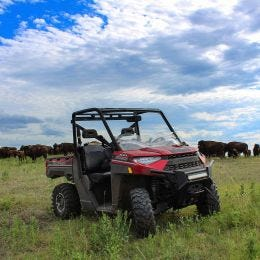 UTV Flare™ Windshield For Polaris Ranger & Bobcat
