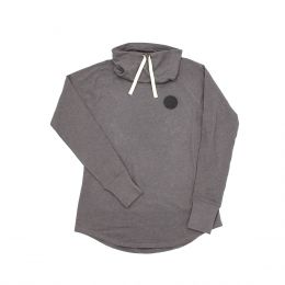 Women's Shadow Grey Cowl Tee