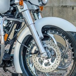Flush Mount Front Axles for Harley-Davidson