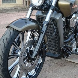 Outrider Rad Guard for Indian Scout, Scout 60 & Bobber