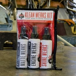 The Klean Werks Kit is perfect for travel!