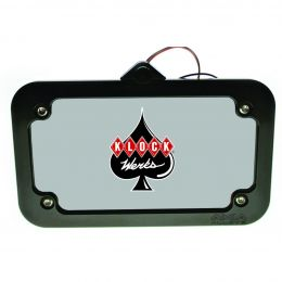 Lighted License Plate Mount