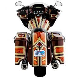 THE ONE Rear Fender for H-D 2009-2021 Touring Models