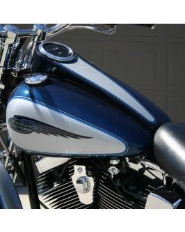 Softail Dash and Ignition Relocation Kit