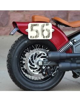 Number Plates for Indian Scout
